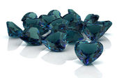 Alexandrite (high resolution 3D image) — Stock Photo