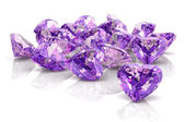 Amethyst (high resolution 3D image) — Foto de Stock
