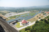 Prakarnchon Khun Dan Dam, Nakhon Nayok, Thailand — Stock Photo