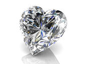 Diamond jewel (high resolution 3D image) — Photo