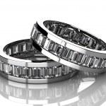 The beauty wedding ring — Stock Photo #9909008