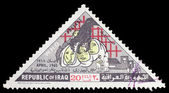 Postage stamp of Iraq — Stock Photo