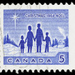 Vintage canadian postage stamp — Stock Photo #18844071