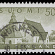 Vintage Finnish postage stamp — Stock Photo