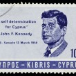 Vintage Cyprus postage stamp — Stock Photo