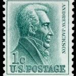 Постер, плакат: US postage stamp