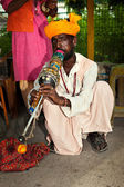 Indian musician — Stock Photo