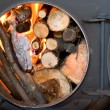 Stock Photo: Iron furnace