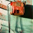 Vintage red phone — Stock Photo #25749821