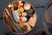 Iron furnace — Stock Photo