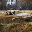 Offroad race car — Stock Photo