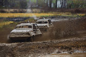 Offroad racing — Stockfoto