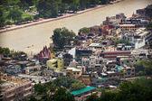 Vista de haridwar, uttarakhand, india — Foto de Stock