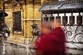 Monaci buddisti — Foto Stock