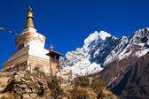 Thamserku peak — Stockfoto