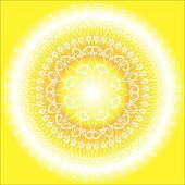 Sun Mandala — Stock Vector