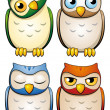 Owls — Stock Vector #23919007