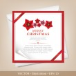 Greeting Christmas and New Year card. — Stock Photo