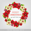 Christmas wreath. — Stock fotografie
