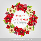Christmas wreath. — Stock Photo
