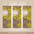 Set of Natural Premium Quality Labels. - Stock Vector
