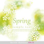 Spring. — Stock Vector