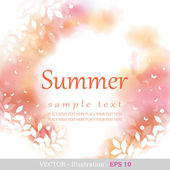 Summer. — Stock Vector