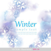 Winter. — Stock Vector