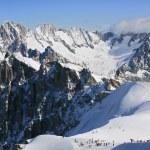 Vallee Blanche, Chamonix — Stock Photo