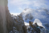Mont Blanc, Chamonix — Photo