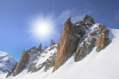 Vallee Blanche, Chamonix — Photo
