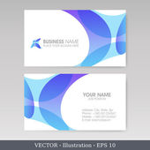 Business Card Set. EPS10 — Stock Vector