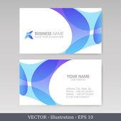 Business Card Set. EPS10 — Stock Vector