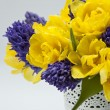 Beautiful spring bouquet. — Stock fotografie
