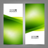 Set of colorful vector banners or business card — 图库矢量图片