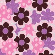 Floral decorative background - Grafika wektorowa