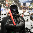 Darth Vader cosplayer — Stock Photo
