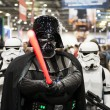 ������, ������: Darth Vader cosplayer