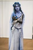 Corpse Bride cosplayer — Stock Photo