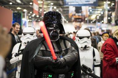 Darth Vader cosplayer
