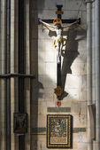 Crucifix in York Minster, UK — Stock Photo