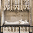 Royalty-Free Stock Photo: Mausoleum in York Minster, UK