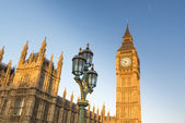 Big Ben with Houses of Parliament — Stock Photo