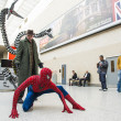 Постер, плакат: LONDON UK May 26: Spiderman and Doctor Octopus cosplayers pos