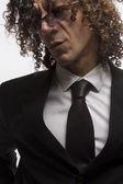 Mediterraneam スーツを着た男 — ストック写真