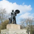Постер, плакат: Statue of Achilles in Hyde Park London UK dedicated to the Du
