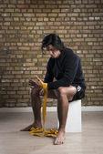 Boxer da malásia — Fotografia Stock