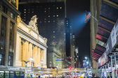 NEW YORK, US - NOVEMBER 26: Entrance to the Grand Central Statio — Stock Photo