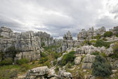 Limestone Rock formations in Antequera, Spain — Stock Photo