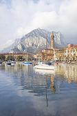 Italian village on the mountains — Stock Photo